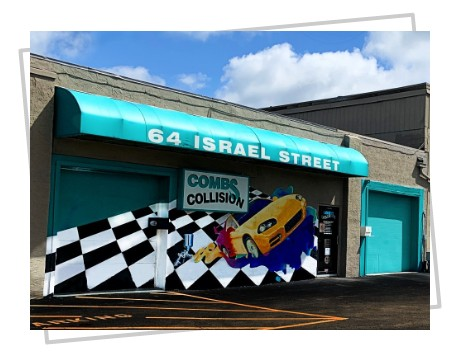 The front of our Westerville Auto Body Shop